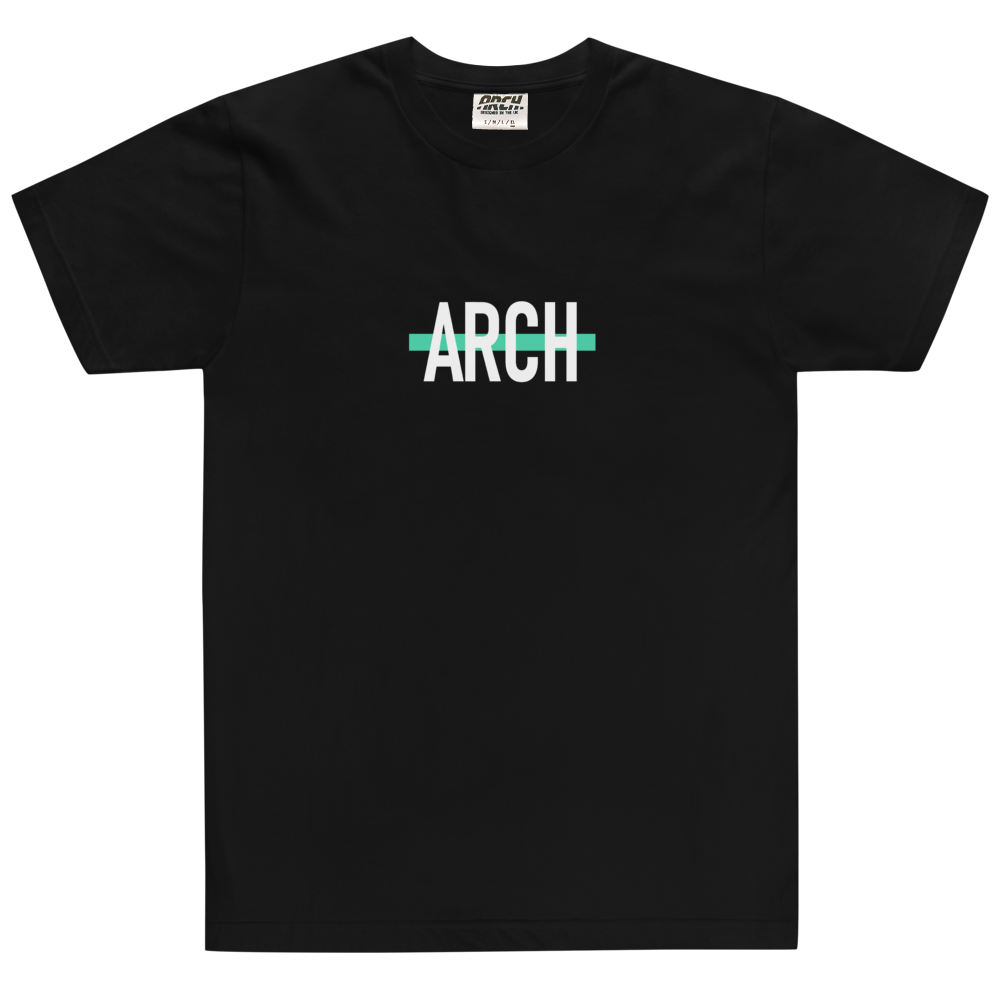 Arch Clothing - Strike Tshirt Black