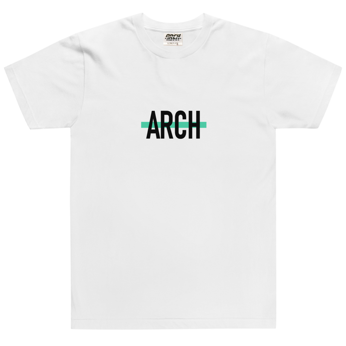 Arch Clothing - Strike Tshirt White