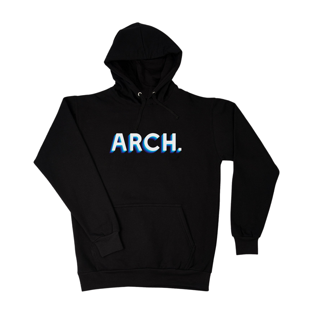 Trail Hoodie - Black-Arch Clothing UK