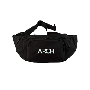 Tri-Line Utility Bag - Black-Arch Clothing UK