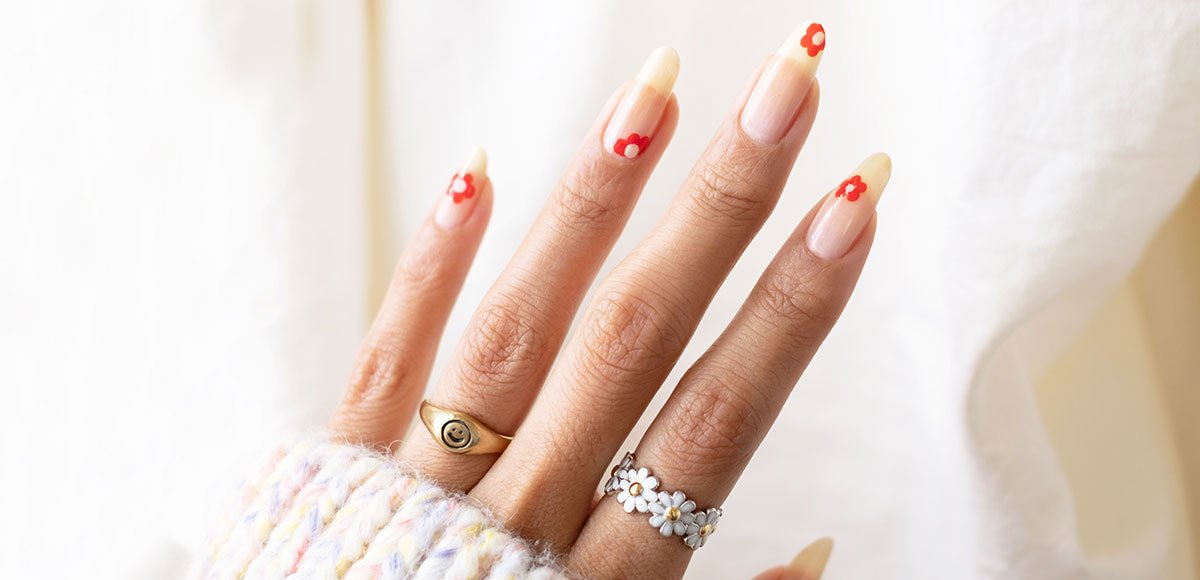 Spring nail art tutorial: Posy nails