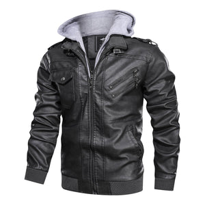 ROYAL MEN'S LEATHER JACKET
