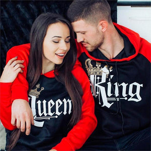 Royal King & Queen Hoodies