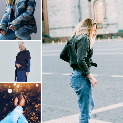 All denim look for fall 2021