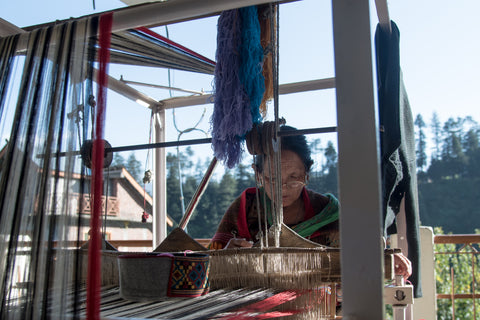 Weaving in Manali