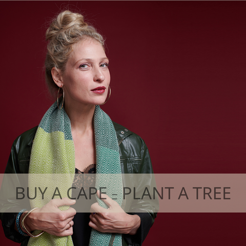Buy a JULAHAS Cape and plant a tree