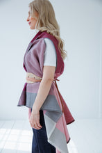 Load image into Gallery viewer, pink julahas wool cape ishikari