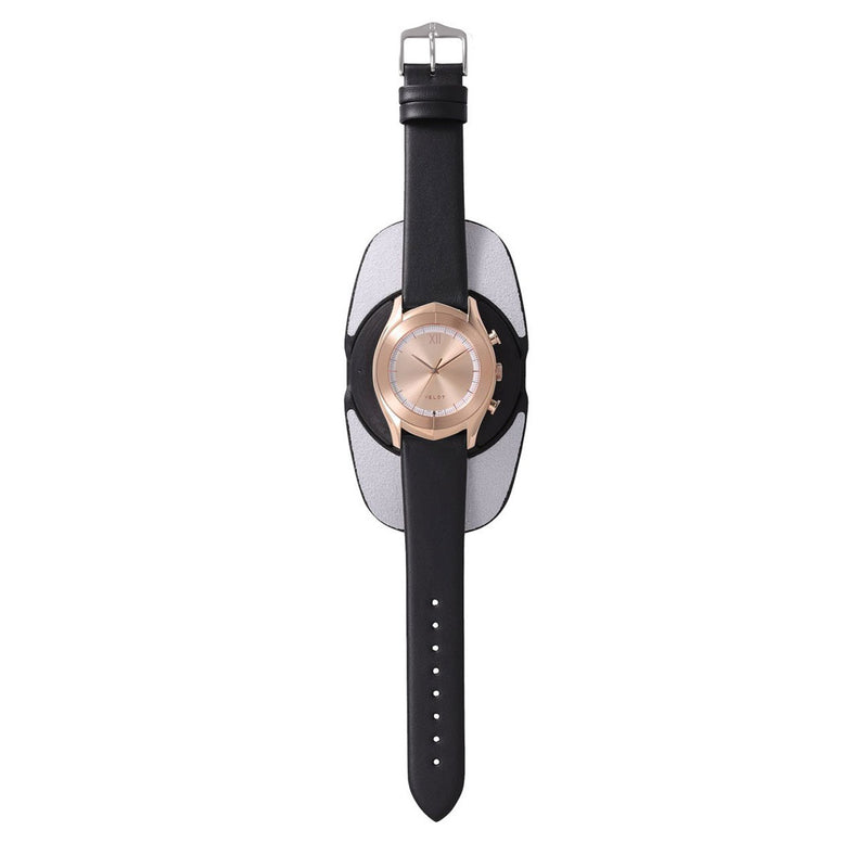 ALTAIR Series Rose R - Black Calf Leather Strap