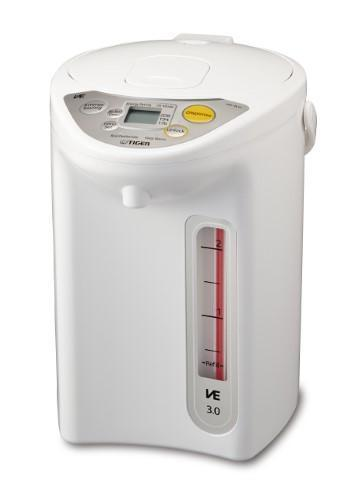 Tiger Micom Electric Water Boiler & Warmer, 3 L, White