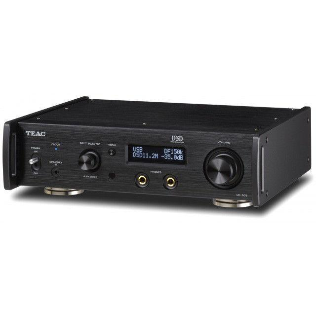 Teac UD-503-B Dual-Monaural USB DAC with Headphone Amplifier (Black)