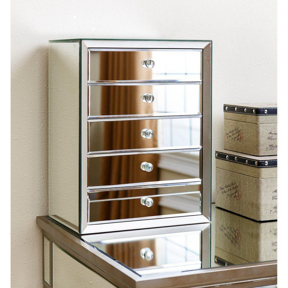https://www.ebay.com/sch/i.html?_nkw=travis+mirrored+5+drawer+jewelry+box+16w+x+18h+in&_sacat=0 at eBay