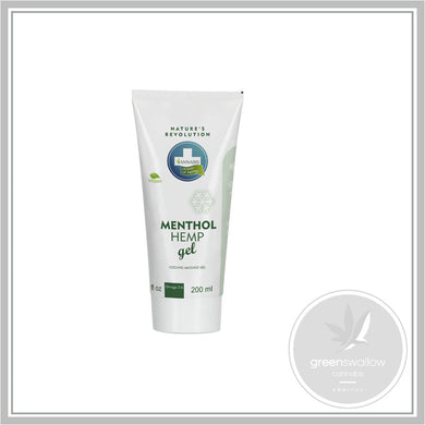 Menthol Hemp Cooling Massage Gel 200ml - Annabis