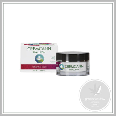 Cremcann Hyaluron Natural Hemp Face Cream 50ml - Annabis