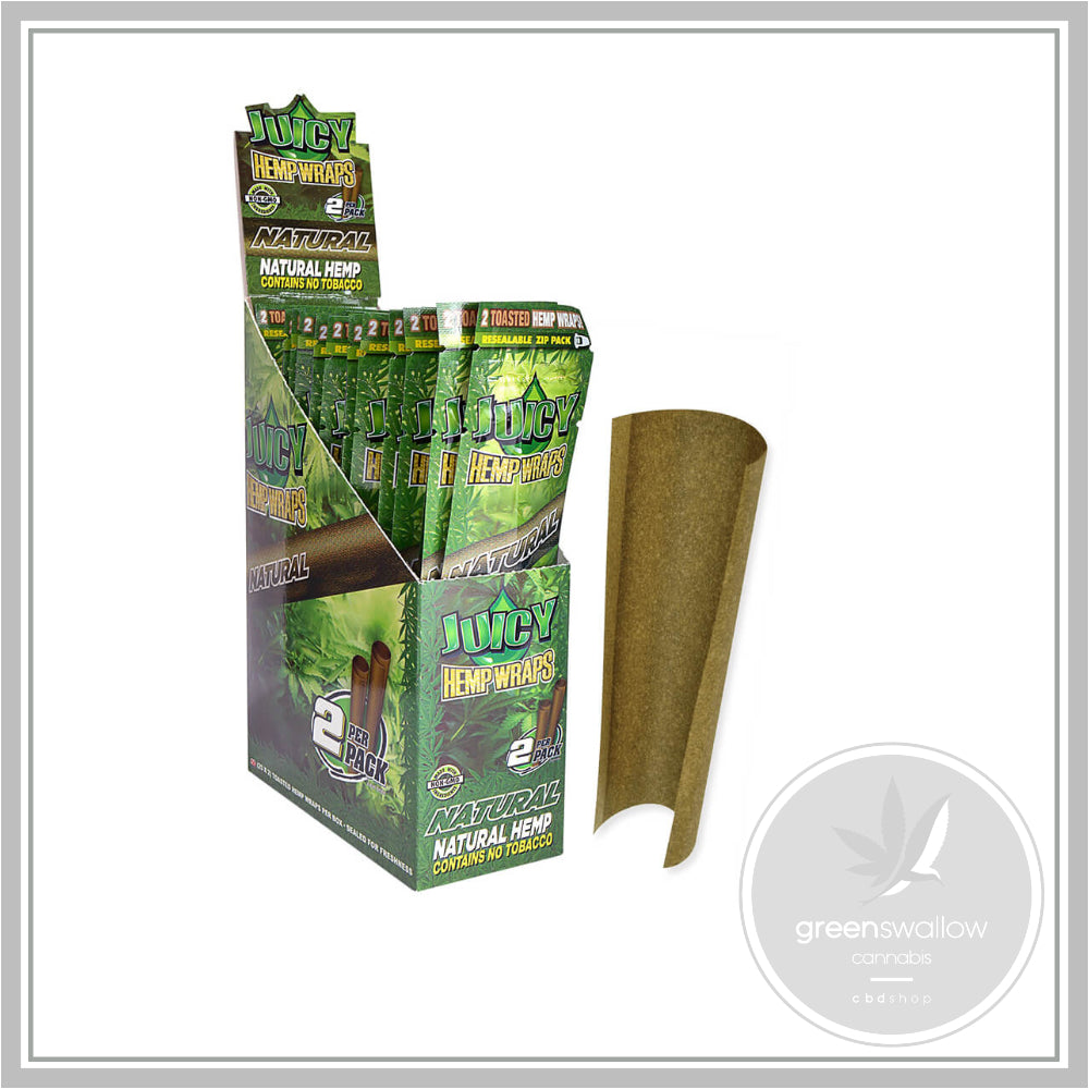 Juicy Jay's Hemp Wraps Blunt Natural