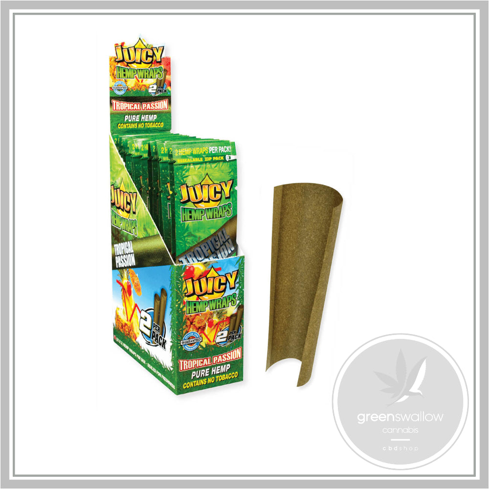 Juicy Jay's Hemp Wraps Blunt Tropical