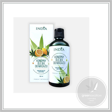 Hemp Oil Massage Lemon - 100ml