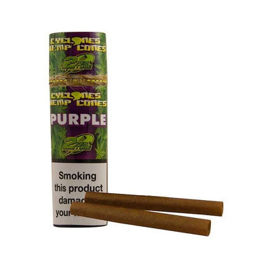 Cyclones Pre Rolled Blunt - Purple