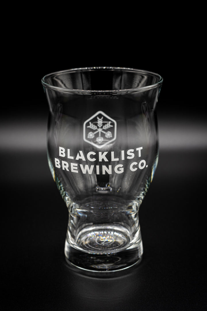 Blacklist 16oz Pint Glass