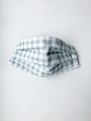 Face Mask - Gingham Slate