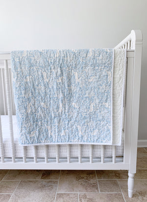 Wholecloth Wildwood Toddler Quilt