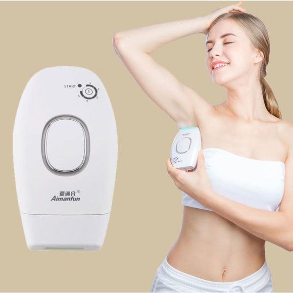 Laser Hair Removal Instrument Rechargeable USB Electric Hair Remover Machine - My Web Store Shopping