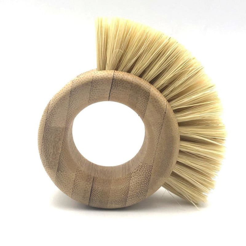 Bamboo sisal kitchen cleaning brush - My Web Store Shopping