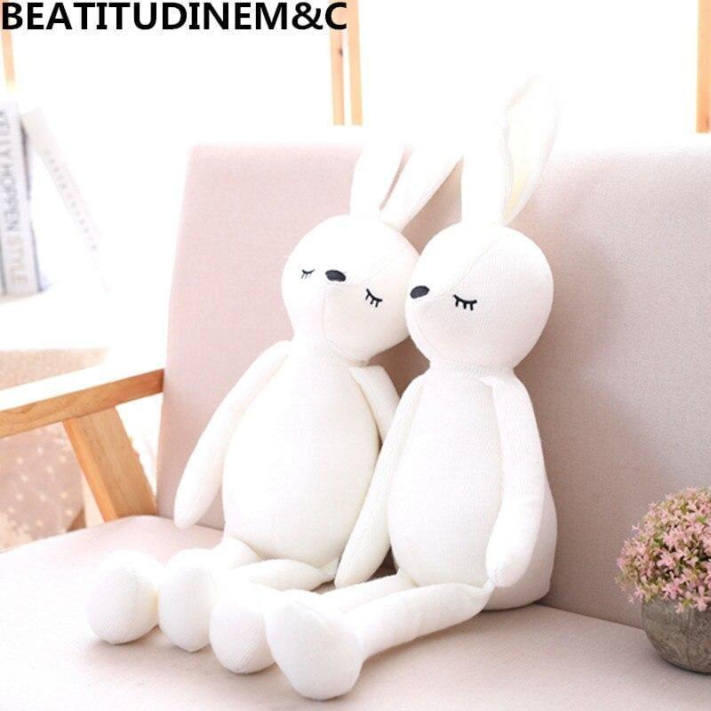 1Pcs 50cm Knitted Fabric Elephant Bunny Plush Toys Children's Toys Baby Comfort Toys Birthday Gifts - My Web Store Shopping