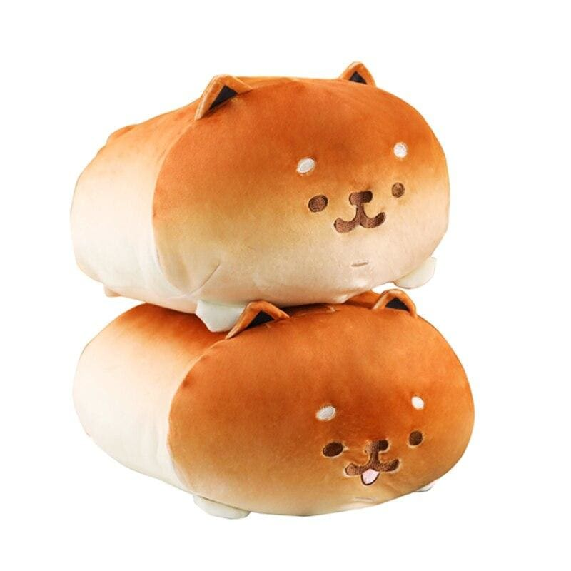 Load image into Gallery viewer, 1pc 35cm Kawaii Lying Bread Dog Plush Soft Pillow Cute Stuffed Animal Toys Doll Lovely Toys for Kids - My Web Store Shopping