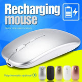 2.4G Wireless Charging Mouse NEW Rechargeable Computer Mouse M80  Ultra-Thin Silent Mute Mice For Home Office Notebook - My Web Store Shopping