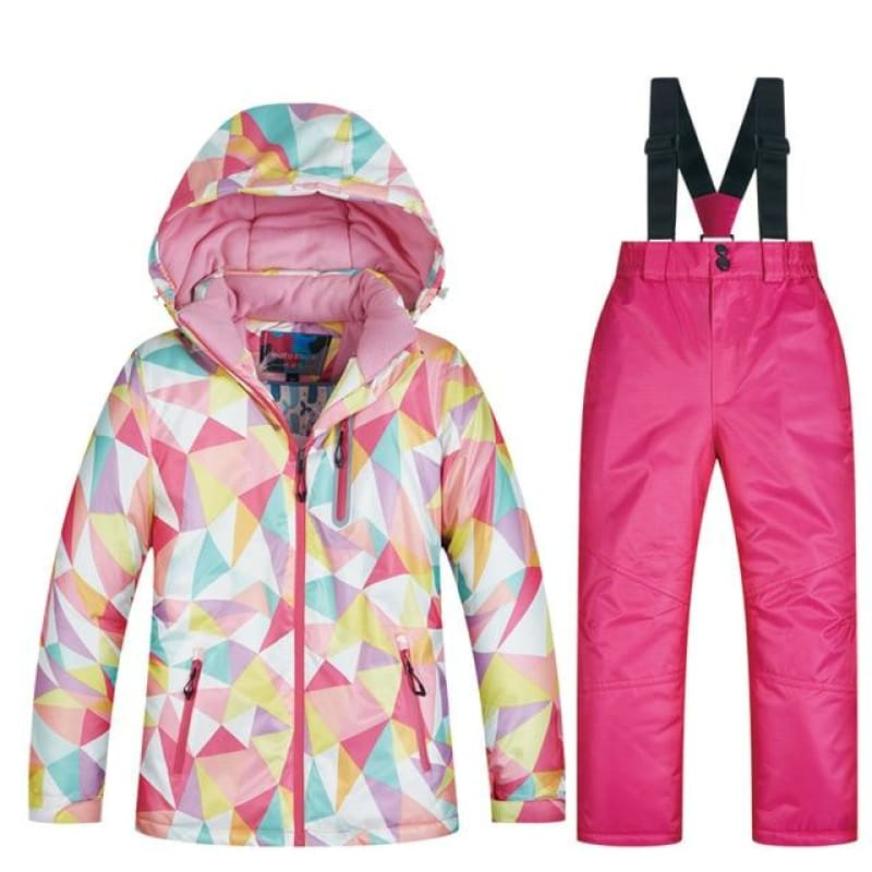 Kids Ski Suit Children Brands Windproof Waterproof Warm Girls And Boys Snow Set Winter Skiing And - My Web Store Shopping