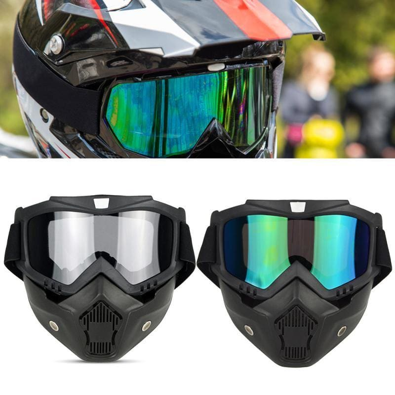 2019 men women skiing Snowboard Snowmobile glasses snow winter ski goggles windproof sunglasses Motocross facial mask #SD - My Web Store Shopping
