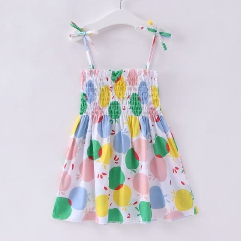 Load image into Gallery viewer, New Baby Clothes Party Dresses Girl Cherry Floral Printed Causal Loose Cute Dress - My Web Store Shopping