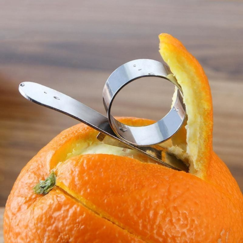 Stainless steel peeler ring - My Web Store Shopping