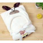 Newborn Hooded Towel Children Baby Spa Towel for Baby Bath Velvet Baby Blanket - My Web Store Shopping