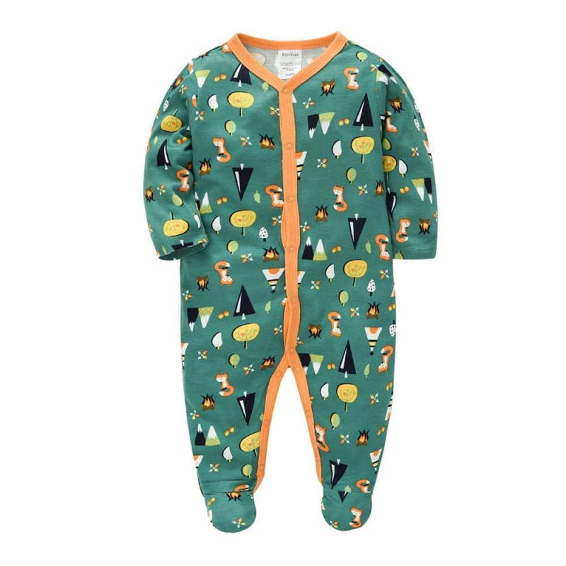 Cotton cartoon baby romper romper - My Web Store Shopping