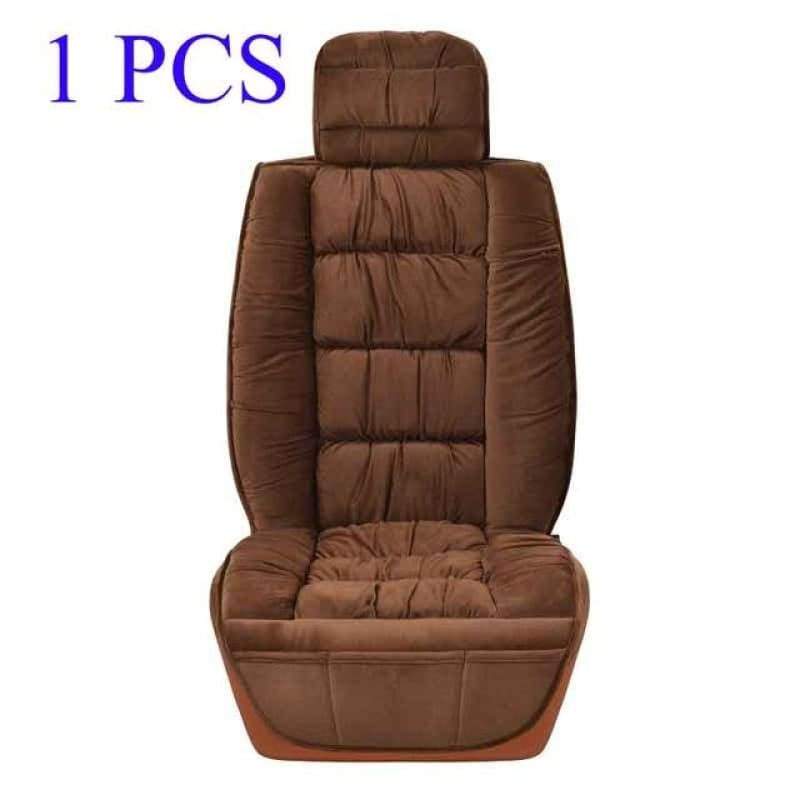 Load image into Gallery viewer, 360 Full Surrounding Universal Winter Warm Car Seat Cover Soft for Plush Seat Cushion Front Car - My Web Store Shopping