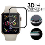 3D Curved Full Coverage Tempered Glass For Apple Watch Series 4/3/2/1 Screen Protective Glass For - My Web Store Shopping