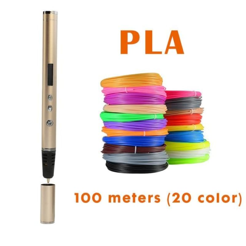3D Pen Scribble Pen OLED PLA ABS Filament 3D Printer Lapiz 3D Printing Pen for School 3D Pencil - My Web Store Shopping