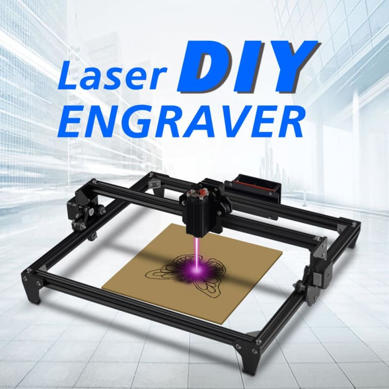 400mm*300mm Laser Mini 2500MW CNC laser Engraving Machine 2Axis 3D printer DIY Engraver Desktop Wood - My Web Store Shopping