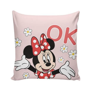 Load image into Gallery viewer, 45x45cm Black White Cartoon PillowCase Mickey Mouse Minnie Mouse Sleeper cover Children - My Web Store Shopping