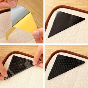 Load image into Gallery viewer, Reusable Washable Rug Carpet Mat Grippers Non Slip Silicone Grip - My Web Store Shopping