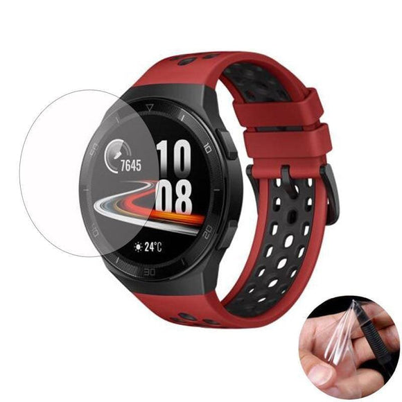 5pcs Soft TPU (Not Glass) Protective Film For Huawei Watch GT 2e/GT2 E Smartwatch Full Screen - My Web Store Shopping