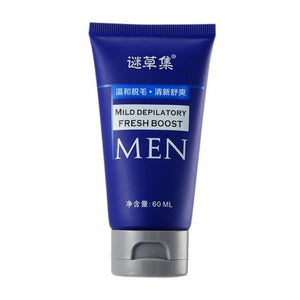 Load image into Gallery viewer, 60g Organic Depilatory Cream Natural Plant Depil Hair Removing Cream for Women and Men Hair Removal - My Web Store Shopping