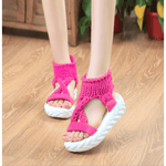 Knitted wool sandals - My Web Store Shopping