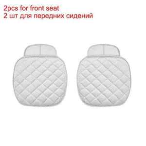 Load image into Gallery viewer, Seat Covers Four Seasons Front Back Seat Warm Velvet Seat Cushion Universal Size - My Web Store Shopping