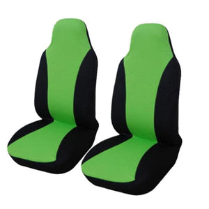 Load image into Gallery viewer, 2PCS Front Car Seat Cover 5 Colour Universal Fit for lada Honda Toyota Seat Covers Car Styling - My Web Store Shopping