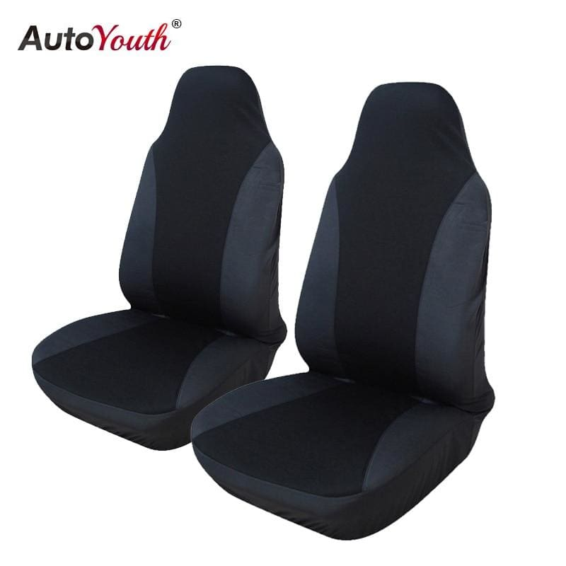 2PCS Front Car Seat Cover 5 Colour Universal Fit for lada Honda Toyota Seat Covers Car Styling - My Web Store Shopping