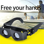 Adjustable Eyewear Fishing Glasses 3-6 Times Zoom Portable Magnifier Wearable Binoculars Telescope - My Web Store Shopping
