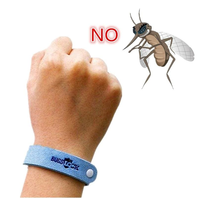 Anti Mosquito Bug Repellent Wrist Band Bracelet Insect Nets Bug Lock Camping safer anti mosquito - My Web Store Shopping