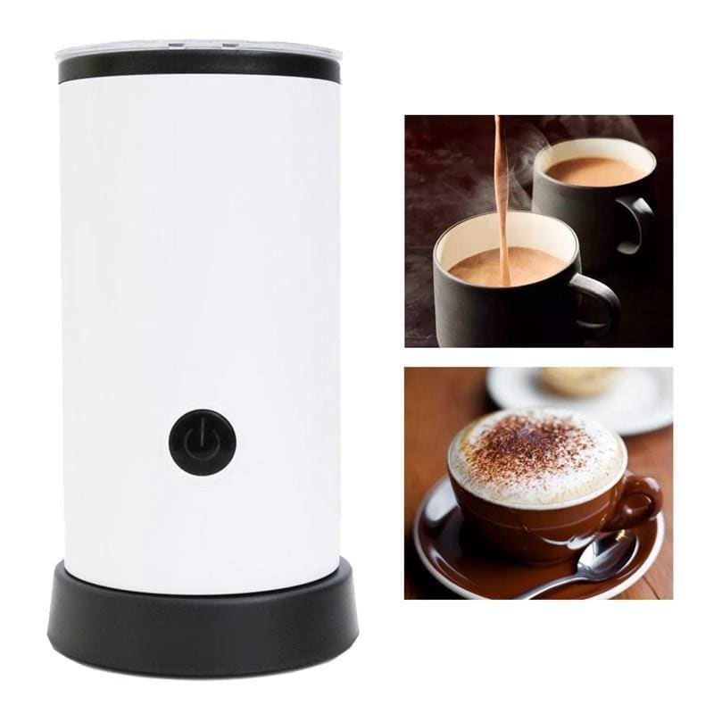 Milk Frother Coffee Foamer Container Soft Foam Cappuccino Maker Electric Coffee - My Web Store Shopping